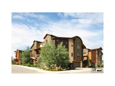 Steamboat Springs Condo/Townhouse Under Contract: 907 Majestic Circle #26