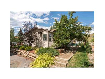 Steamboat Springs Single Family Home Under Contract: 1496 Conestoga Circle