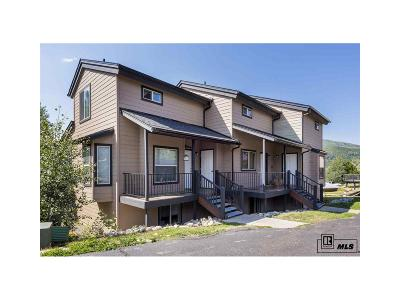 Steamboat Springs Condo/Townhouse Under Contract: 534 Tamarack Drive #502