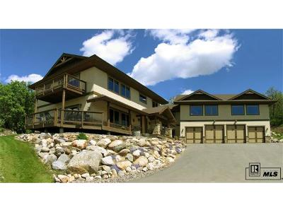 Steamboat Springs Single Family Home Active: 1920 Clubhouse Drive