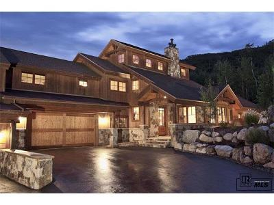 Steamboat Springs Condo/Townhouse Active: 2672 Alpenglow Way