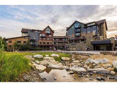 Steamboat Springs Condo/Townhouse Active: 2250 Apres Ski Way #R516