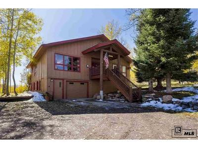 Routt County Single Family Home Active: 27085 Beaver Canyon Drive