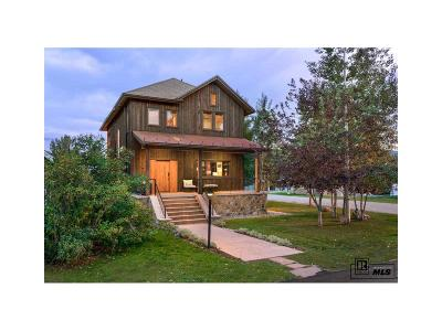Steamboat Springs Single Family Home Active: 163 Logan Avenue