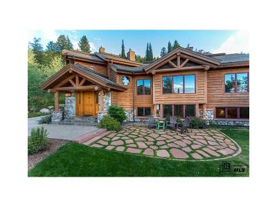 Steamboat Springs Single Family Home Under Contract: 1076 Steamboat Boulevard