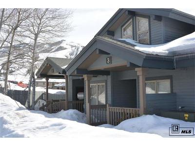 Steamboat Springs Condo/Townhouse Active: 1724 Ski Time Square Drive