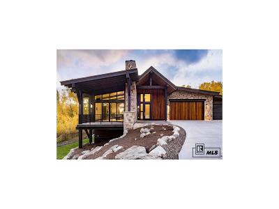 Steamboat Springs Single Family Home Under Contract: 589 Forest View Drive