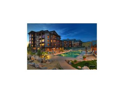 Steamboat Springs Condo/Townhouse Active: 1175 Bangtail Way #2124