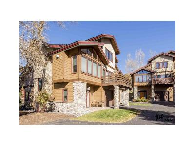 Steamboat Springs Condo/Townhouse Under Contract: 2861 St. Moritz Way