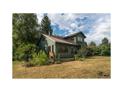 Steamboat Springs Single Family Home Under Contract: 1141 Soda Ridge Way