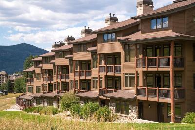 Steamboat Springs Condo/Townhouse Active: 2355 Ski Time Square, #336