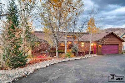Steamboat Springs Single Family Home Under Contract: 610 Amethyst Drive