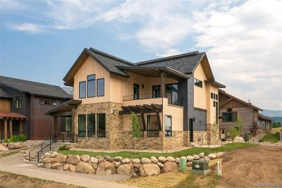 Steamboat Springs Single Family Home Active: 735 Angel's View Way