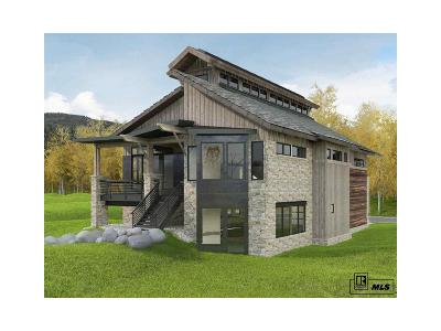 Steamboat Springs Single Family Home Active: 775 Angel's View Way