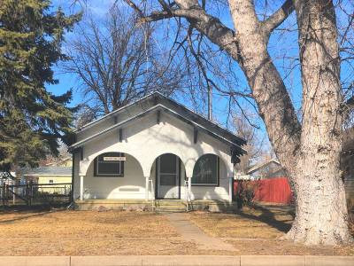 Haxtun CO Single Family Home Under Contract: $110,000