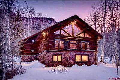 Crested Butte CO Single Family Home For Sale: $1,125,000