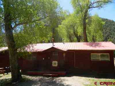 South Fork Single Family Home For Sale: 13046 Hwy 149 #Cabin #2