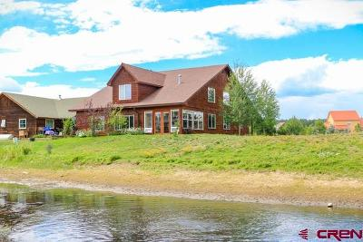 Pagosa Springs Single Family Home For Sale: 31 Laguna Place