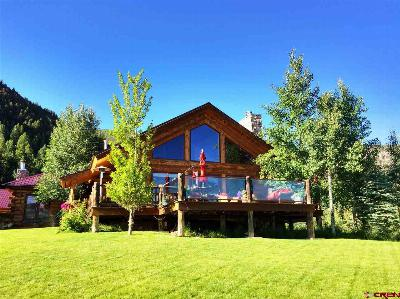 Creede Single Family Home For Sale: 343 Alpine Road