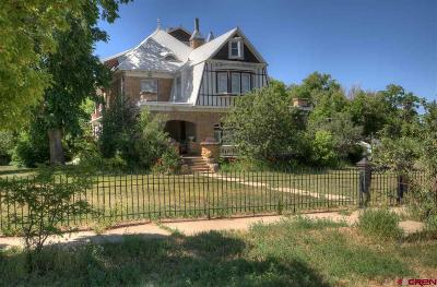 Mancos Single Family Home For Sale: 209 Bauer