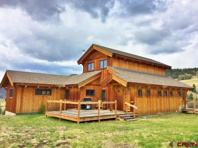 Creede Single Family Home For Sale: 260 Wetherill