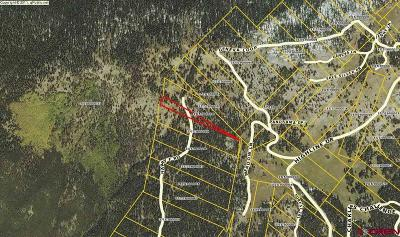 Gunnison Residential Lots & Land For Sale: Harry F