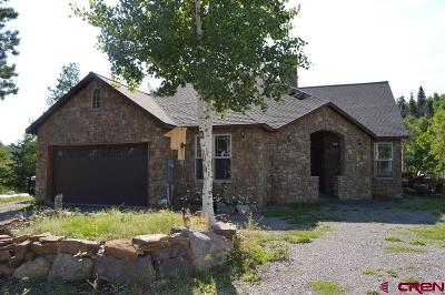 Ridgway Single Family Home For Sale: 1450 Aspen Drive