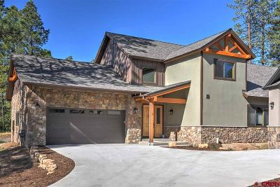 Durango Single Family Home For Sale: 7 Canyon Pines Place