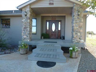 Dolores Single Family Home For Sale: 15498 Road 28