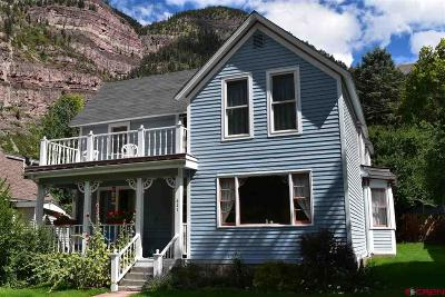 Ouray County Single Family Home For Sale: 621 4th