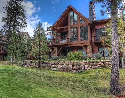 Durango Condo/Townhouse For Sale: 761 Glacier Club #14