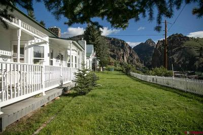 Creede Single Family Home For Sale: 116 S Aspen