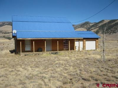 Creede Single Family Home For Sale: 109 Bluff