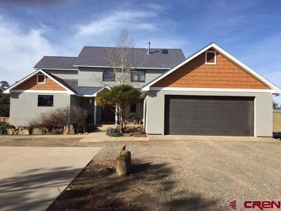 Ignacio Single Family Home For Sale: 1490 Cr 509