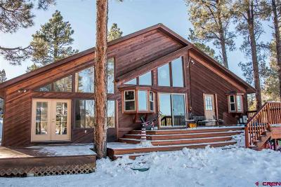 Pagosa Springs Single Family Home For Sale: 865 Cloud Cap