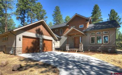 Durango Single Family Home For Sale: 340 Copper Rim