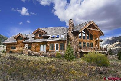 Creede Single Family Home For Sale: 1051 Middle Creek