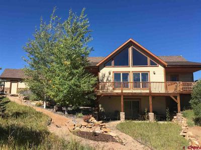 Ouray County Single Family Home For Sale: 1469 Ponderosa