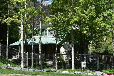 Ouray County Single Family Home For Sale: 518 5th