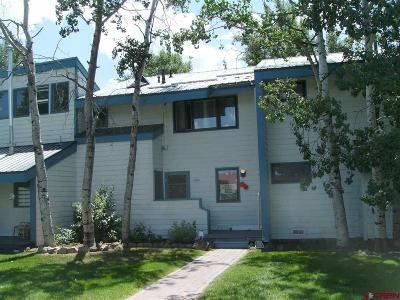 Pagosa Springs Condo/Townhouse For Sale: 247 Davis Cup #4264
