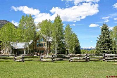 Durango Single Family Home For Sale: 10495 Cr 250