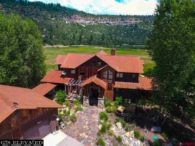 Durango Single Family Home For Sale: 189 Turtle Lake Meadow Road
