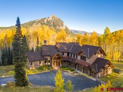 Crested Butte Single Family Home For Sale: 115 Smith Hill Ranches