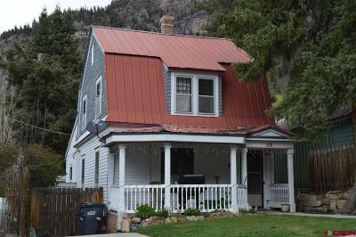 Ouray County Single Family Home For Sale: 536 3rd Avenue