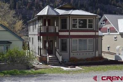 Ouray County Single Family Home For Sale: 812 4th Street