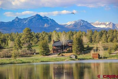 Pagosa Springs Single Family Home For Sale: 344 Carlee