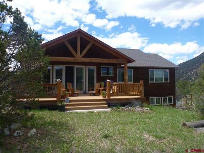 Ridgway Single Family Home For Sale: 221 Quarter Horse