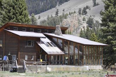 Creede Single Family Home For Sale: 128 Forest Service Rd 508