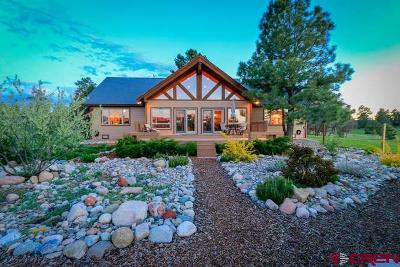 Pagosa Springs Single Family Home For Sale: 1468 Cool Pines