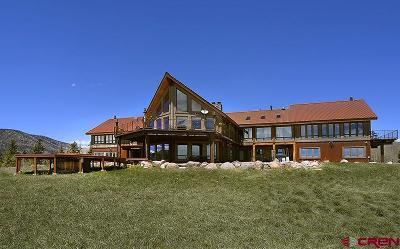 Creede Single Family Home For Sale: 1 Gold Dust